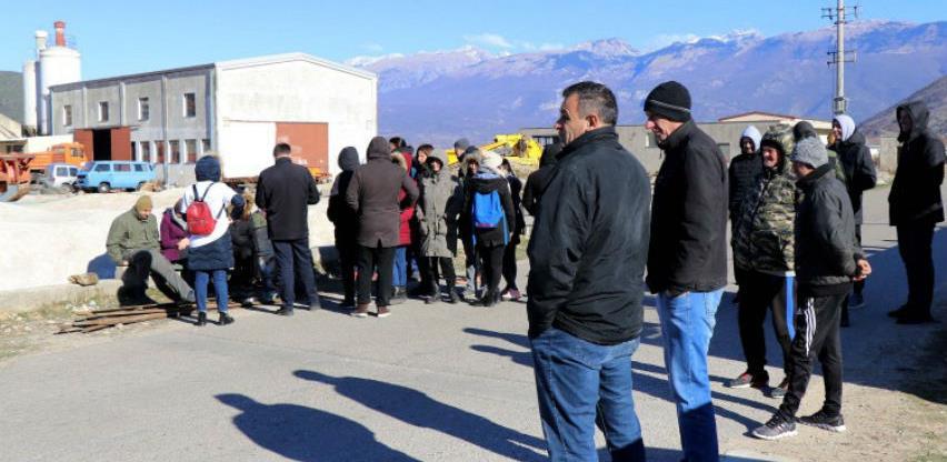 Građani ponovno blokirali deponiju Uborak