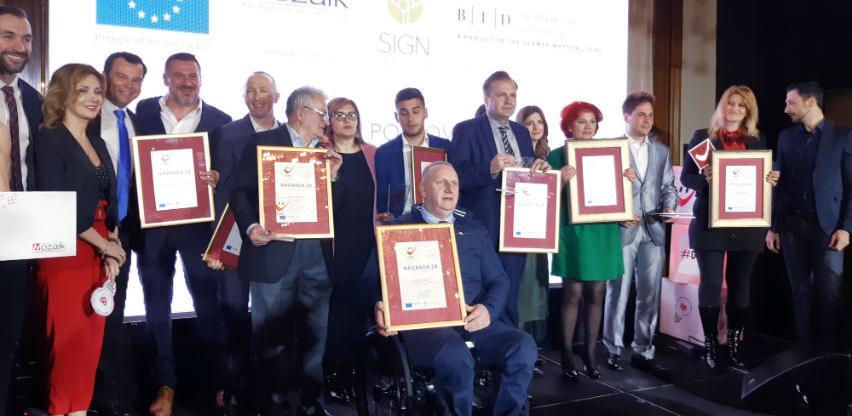 """Dodijeljene nagrade """"DOBRO za filantropiju 2019"""""""