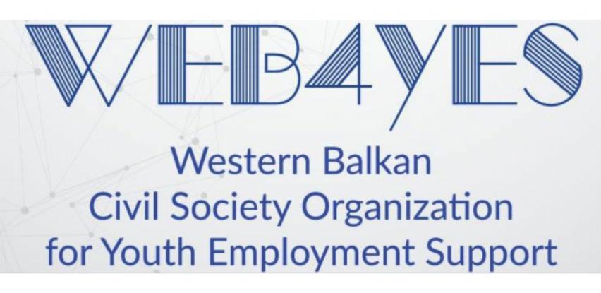 Javni poziv za dodjelu malih grantova u okviru WeB4YES projekta