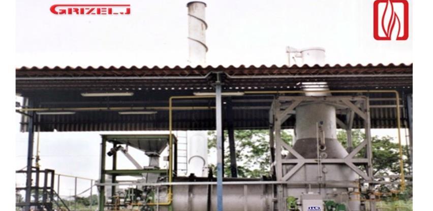 Roteco postrojenje za selektivni energent iz otpada novi proizvod firme Grizelj