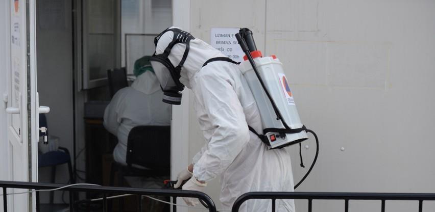 Ekipe CZ Općine Novi Grad vrše dezinfekciju zdravstvenih ustanova