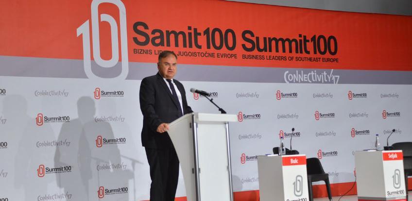 Počeo poslovni 'Summit 100' u Skoplju