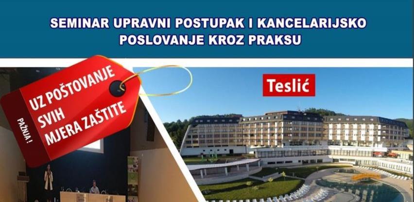 Seminar upravni postupak i kancelarijsko poslovanje kroz praksu
