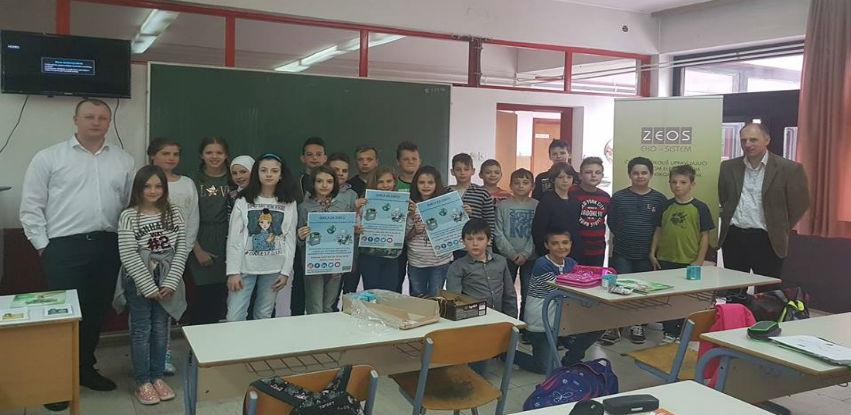Dan planete Zemlje - projekat Djeca za djecu sa kompanijom ZEOS eko-sistem