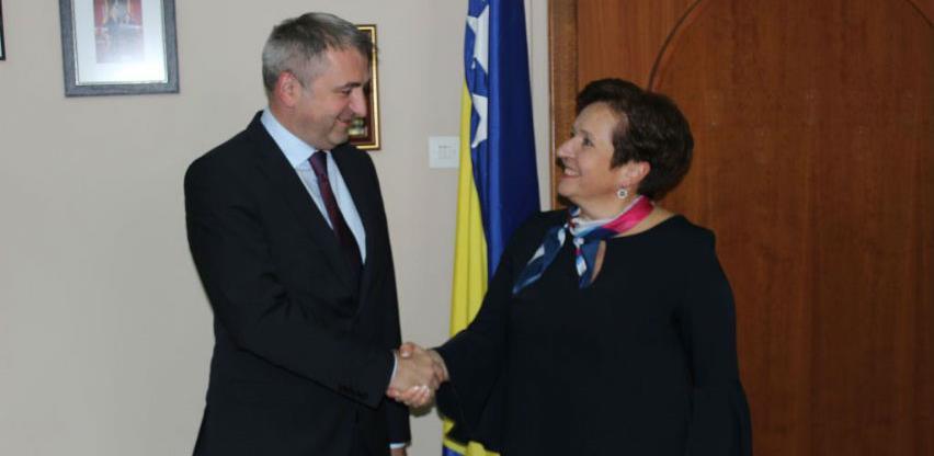 Dobra saradnja Ministarstva odbrane BiH sa institucijama Hrvatske