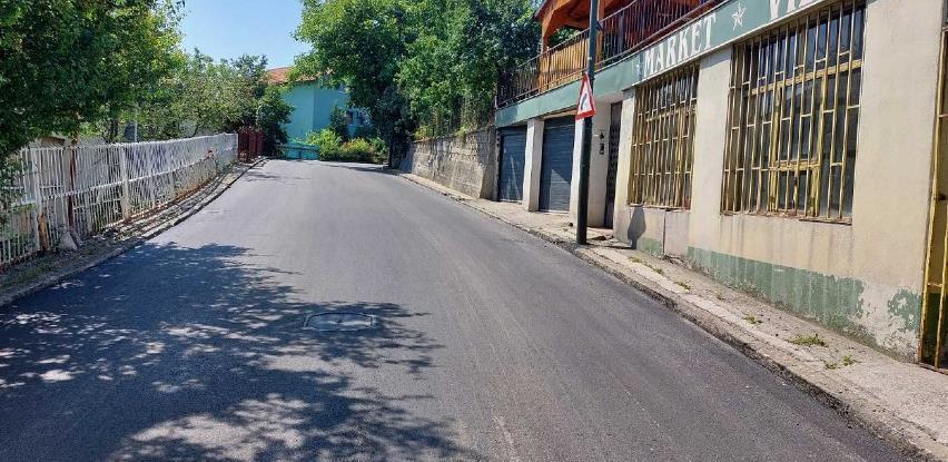 Završni radovi na rehabilitaciji lokalne ceste u ulici Humska