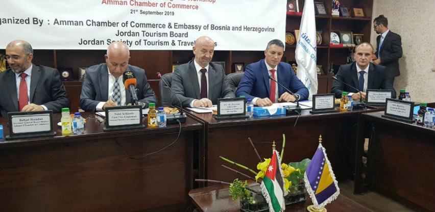 Turistički sektor BiH prezentirao svoje potencijale u Jordanu