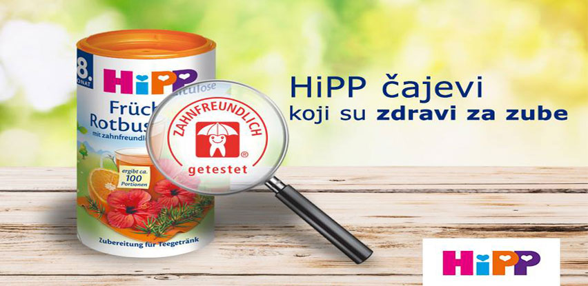 Novi HiPP Organic čajevi u vrećicama - HiPP instant i HiPP ekstrakt čajevi!