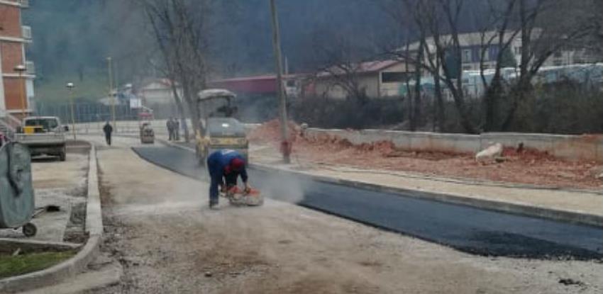 Nastavak radova na izgradnji putne infrastrukture u Opštini Milići