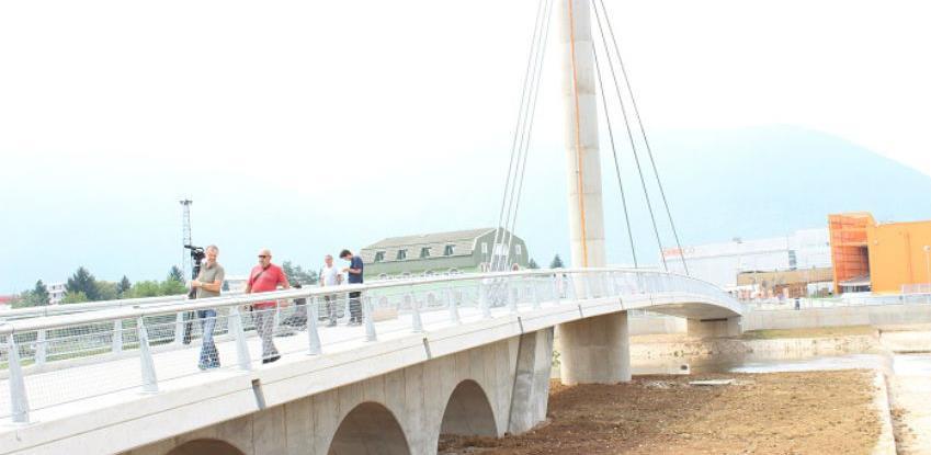 Pješački most kod OBI-ja uskoro u funkciji