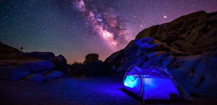 National Geographic: Sjajne fotografije kampova pod zvijezdama