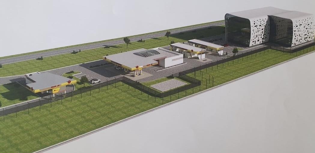 Bageri na terenu: Počele pripreme za izgradnju Hifa Oil terminala i hotela pored aerodroma