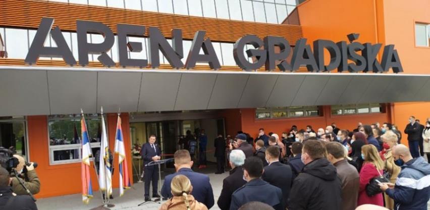 Otvorena novoizgrađena sportska dvorana Arena Gradiška vrijedna 14 mil. KM