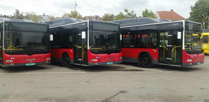 Deset novonabavljenih zglobnih autobusa u oktobru na ulicama Kantona Sarajevo