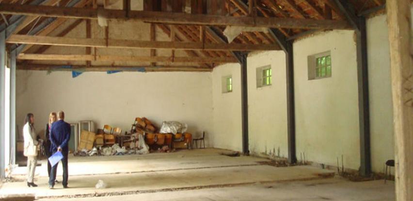 Nekadašnji vojni hangar bit će pretvoren u dvoranu