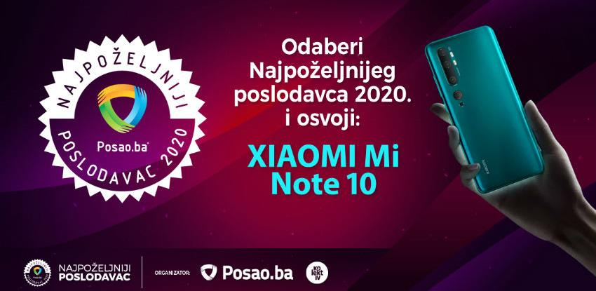 Prikupljeno više od 100.000 glasova za Najpoželjnijeg poslodavca u BiH