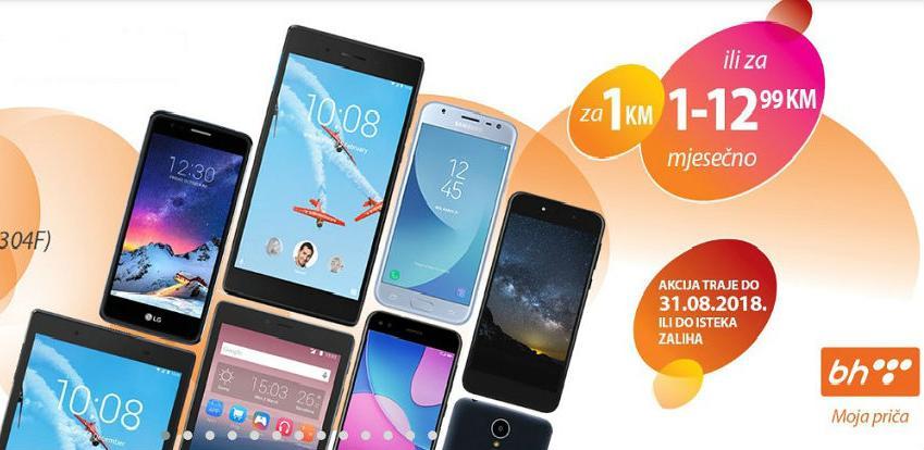 Nikad bolja ponuda mobitela i tableta u BH Telecomu