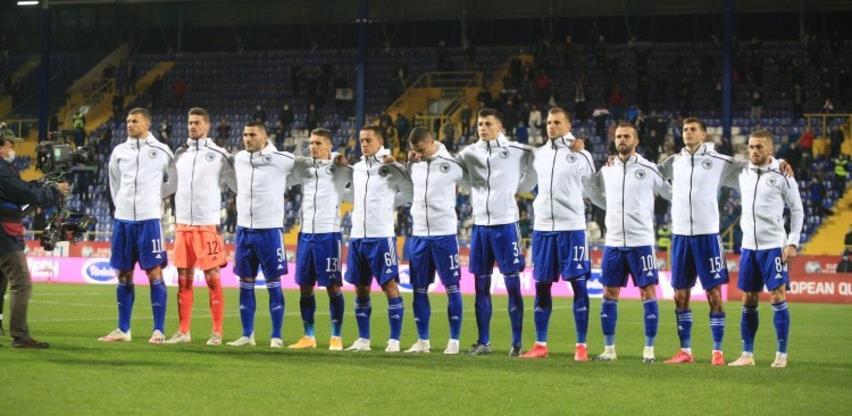 Nogometna reprezentacija BiH na 56. mjestu FIFA rang liste