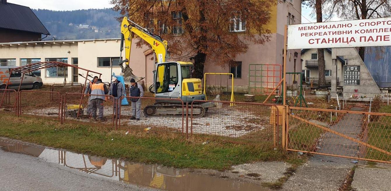 Mibral počinje izgradnju četiri dječija igrališta na Palama