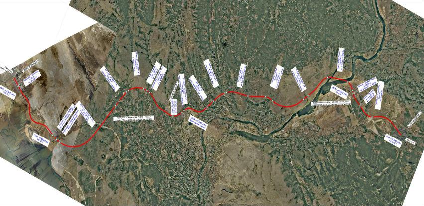 Evo kuda bi mogla ići buduća brza cesta Mostar-Široki Brijeg-Grude-RH