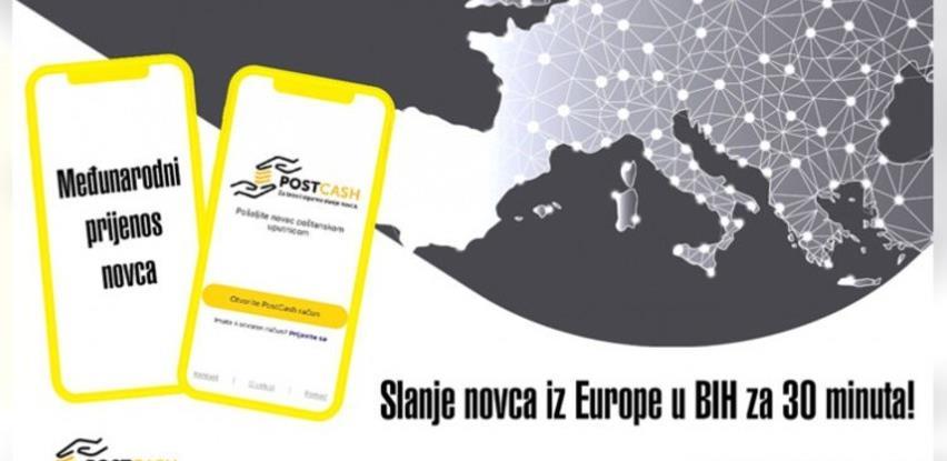 PostCash: Novac iz EU konačno dostupan građanima BiH