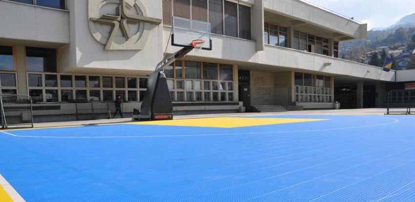 Skenderija dobija novi sportski mobilijar u sportskim dvoranama i platou
