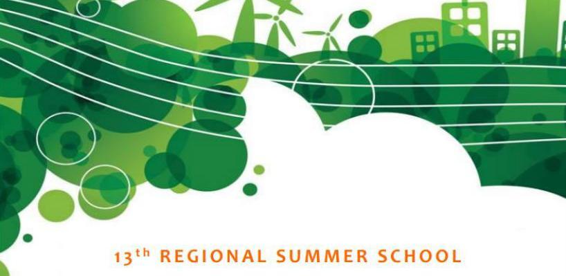 13. Regionalna ljetna škola održivog razvoja i niskoemisionog planiranja