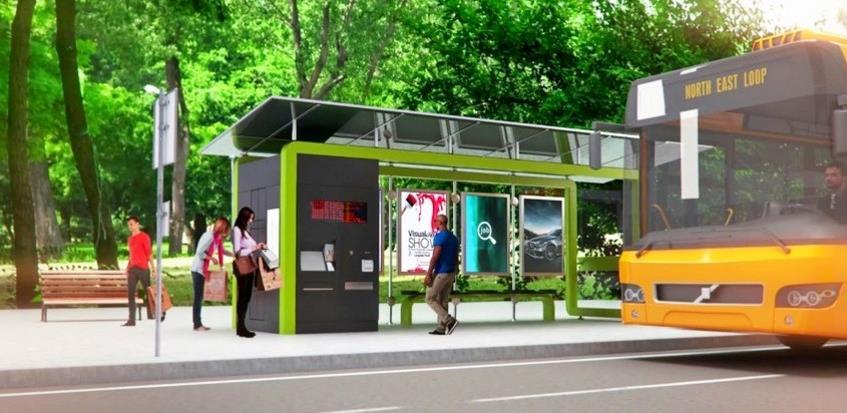 Počinje montaža pametnog autobuskog stajališta u Banjoj Luci