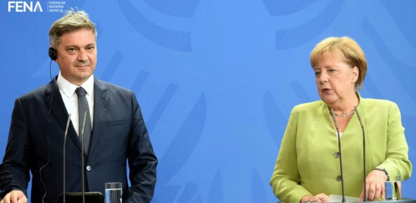 Zvizdić - Merkel: Prioriteti BiH ostaju evropski i NATO put
