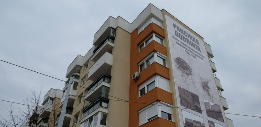 """Završena obnova zgrade """"Pancirka"""" na Dobrinji"""