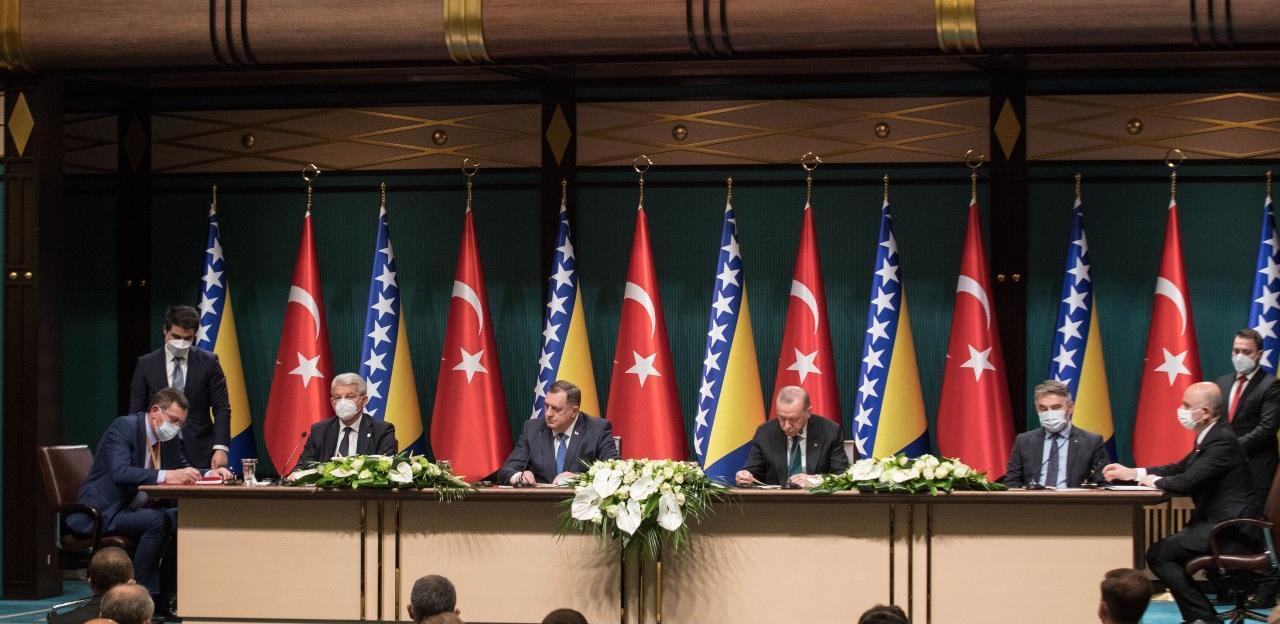Erdogan: Nema prepreka za izgradnju gasovoda u BiH