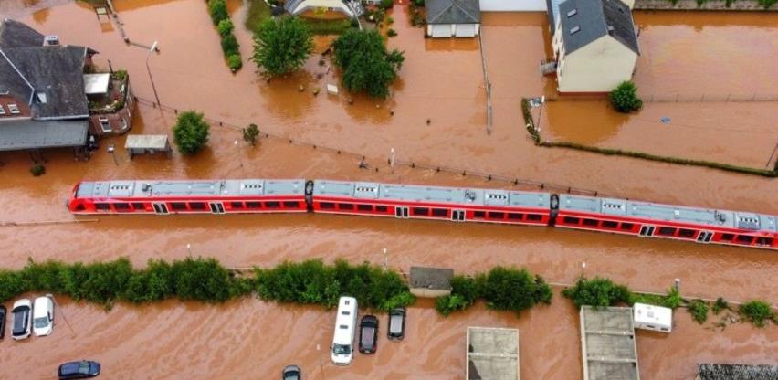 Nakon poplave u Njemačkoj štete na željezničkoj mreži 1,3 milijardi eura