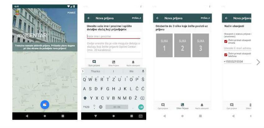 mojCENTAR: Građanima dostupna aplikacija za prijavu problema lokalne zajednice