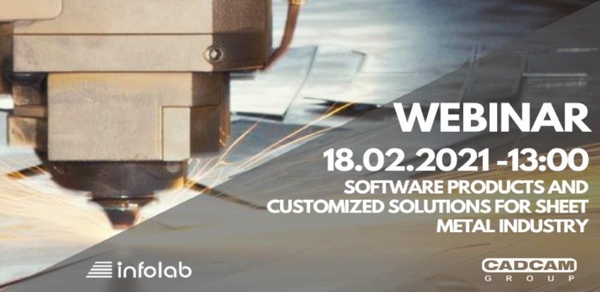 18/02 – Webinar: Softverski proizvodi i rješenja prilagođena za industriju lima