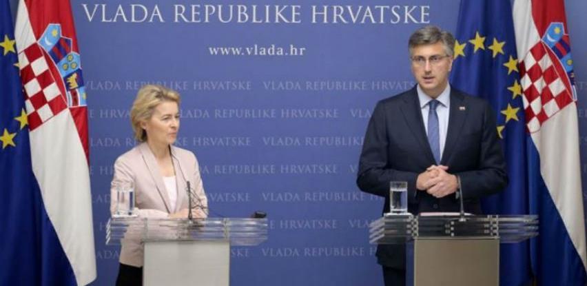 Ursula von der Leyen: Hrvatski prioriteti su i europski