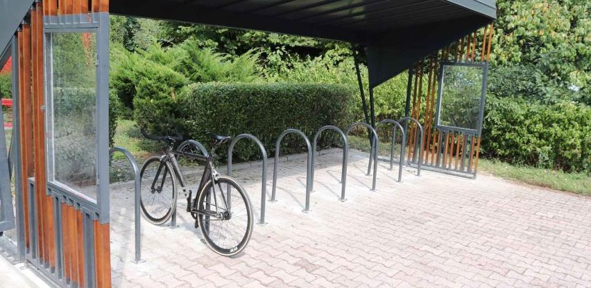 GIZ: U Sarajevu devet novih natkrivenih biciklističkih parkinga
