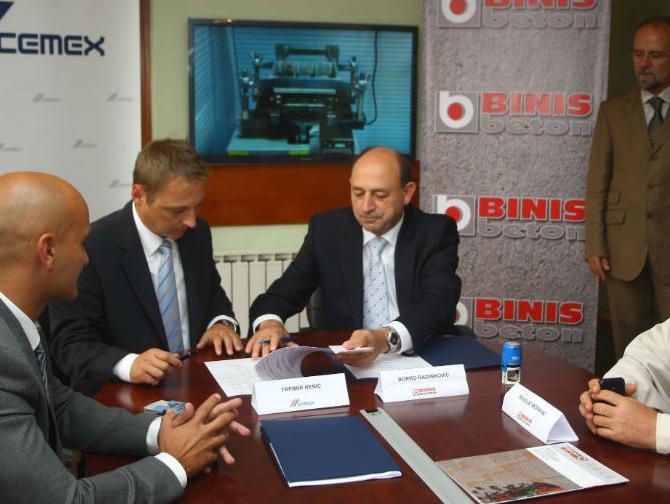 Saradnjom s BINIS-om, CEMEX širi poslovanje na tržištu regije Banja Luka