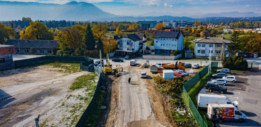 Počela rekonstrukcija cesta u naselju Zabrđe i industrijskoj zoni Rajlovac