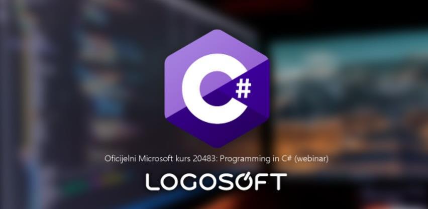 Novi webinar Logosoft Edukacije: Programming in C#
