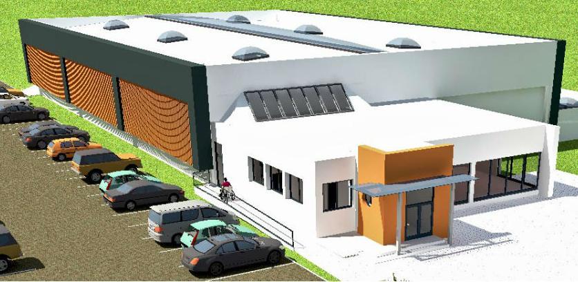 Počinje izgradnja sportske dvorane na mjestu Šoping centra