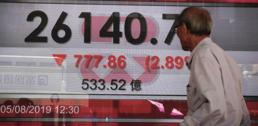 Azijska tržišta pod pritiskom na kraju tjedna