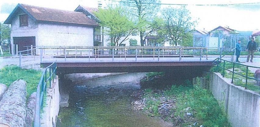 Općina Ilidža sanira most na saobraćajnici Butmirska cesta