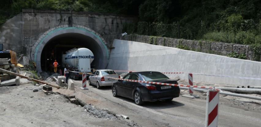 Dvosmjerni promet u tunelu Vranduk bit će pušten do kraja oktobra