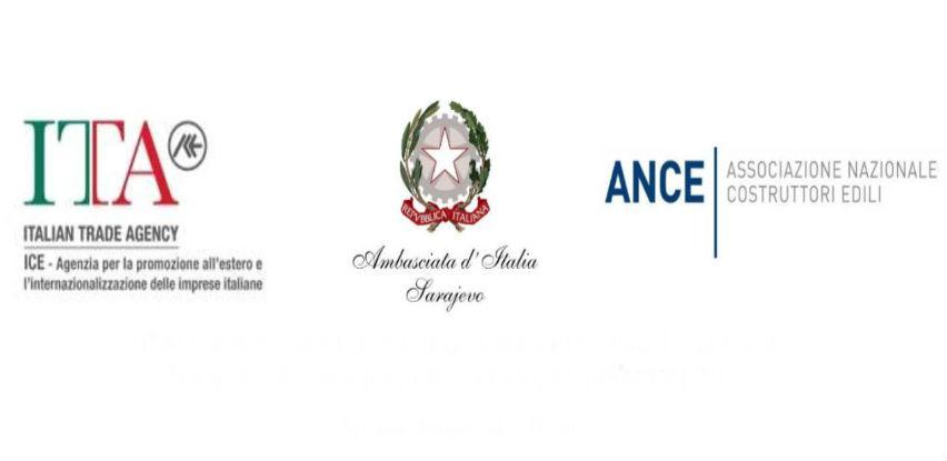 "Poslovni forum ""Italy & Bosnia and Herzegovina – Building Together"""