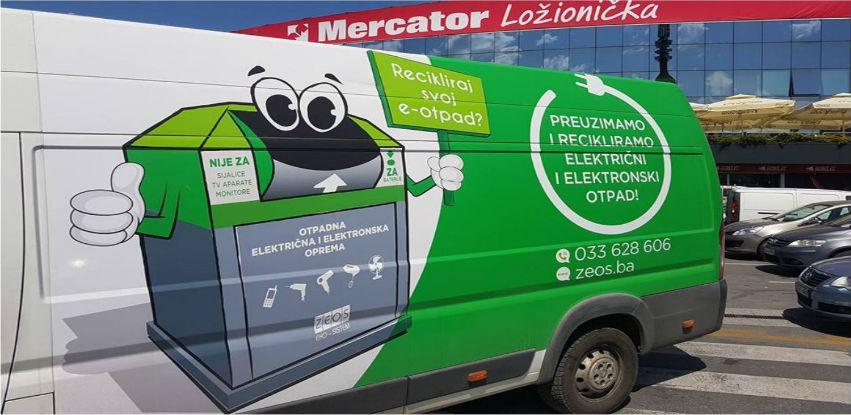 Infrastruktura za pravilno odlaganje e-otpada