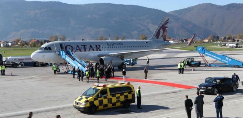 Prvi avion Qatar Airwaysa sletio na Sarajevski aerodrom