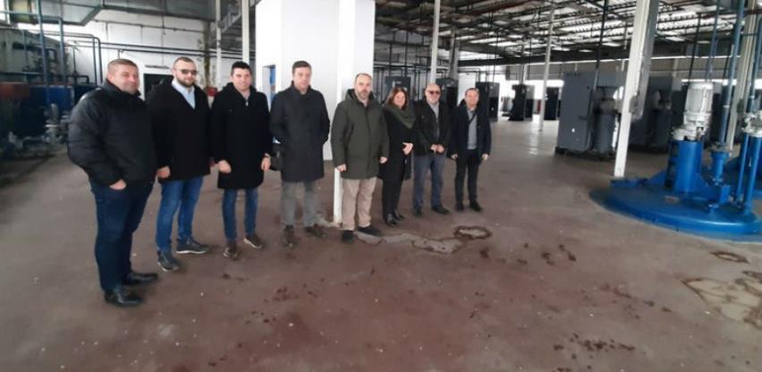 """Završne pripreme za pokretanje nekadašnje fabrike """"Terpentin"""" u Višegradu"""