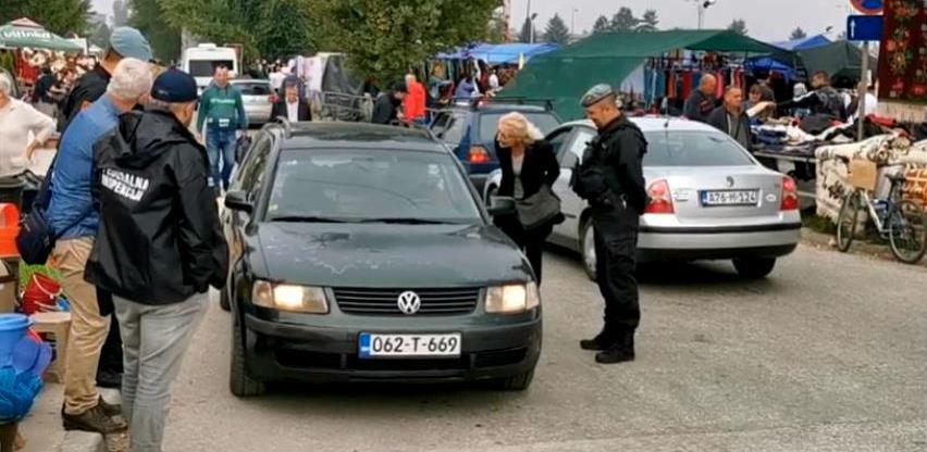 Akcija federalne inspekcije i sarajevske policije na autopijaci na Stupu