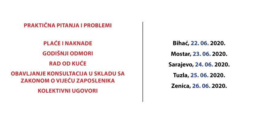 REC seminar: Radni odnosi u FBiH