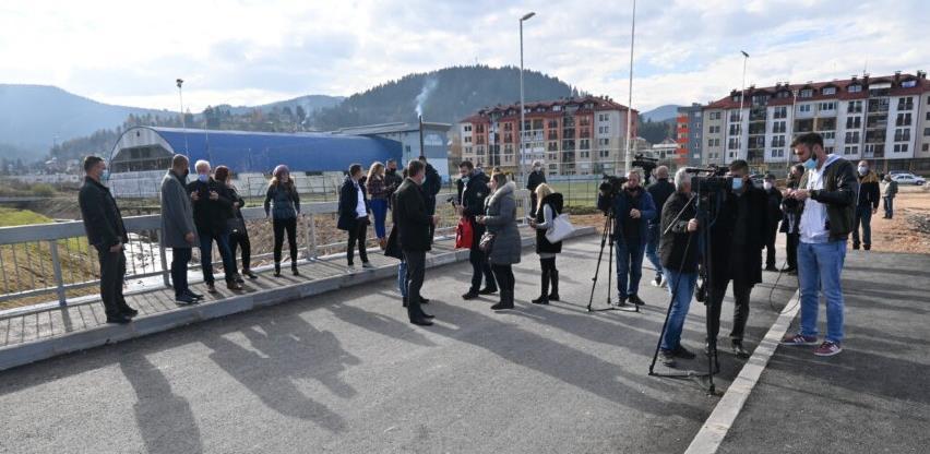 Pušten u promet novoizgrađeni most u naselju Oblićevo-Luka